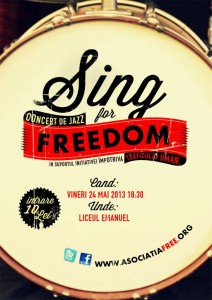 Sing for freedom - eveniment anti-trafic de persoane - blog eliberare